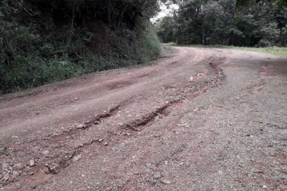 Route dégradée, le parc des Grandes Fougères fermé