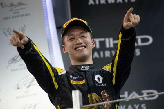 Zhou Guanyu, le premier Chinois aux portes de la F1
