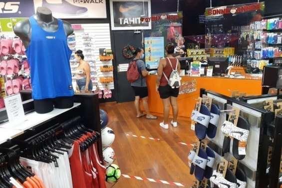 Les Polynésiens se ruent dans les magasins de sport