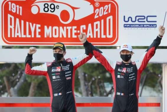 Sébastien Ogier s'offre un 8e Rallye Monte-Carlo record