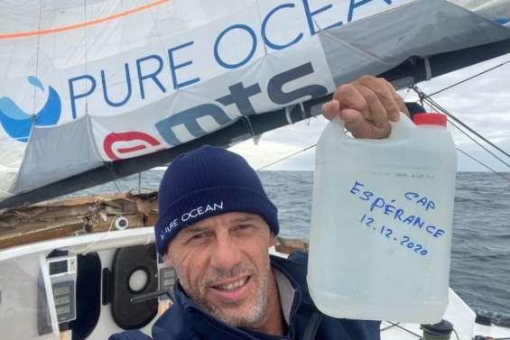 Vendée Globe : leskipper de l'Imoca Merci aimerait faire découvrir son bateau aux Calédoniens