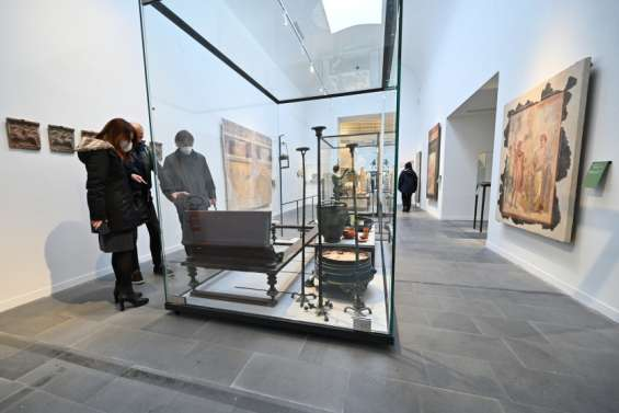 Pompéi expose de nouveaux trésors