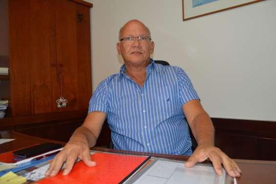 Eddie Lecourieux, maire du Mont-Dore :