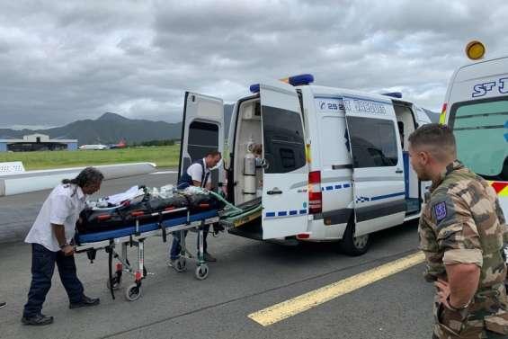 Deux blessés graves évasanés de Wallis à Nouméa