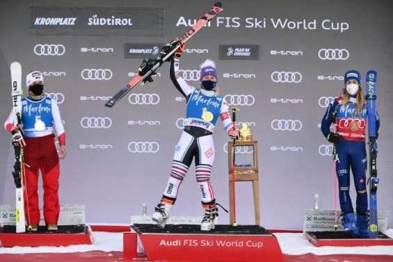 Ski alpin: première victoire en Coupe du monde depuis plus de 2 ans pour Worley à Kronplatz