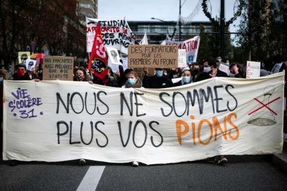 Crise sanitaire, salaires...: mobilisation d'une partie du monde de l'éducation