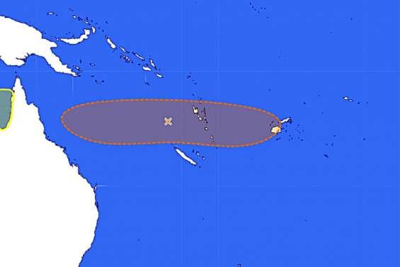 Activité cycloniqueconfirmée et vigilance dans le Nord de la Calédonie