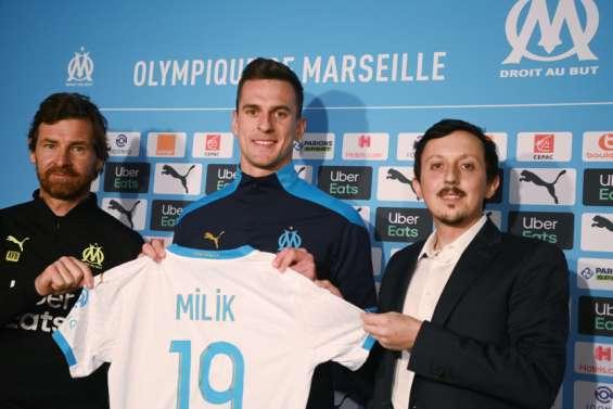 Milik est à l'OM pour marquer