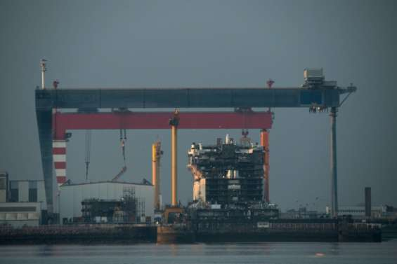 Le rachat des Chantiers de l'Atlantique par Fincantieri sur le point de capoter, selon la presse