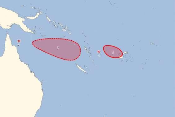 Dépression tropicale: dégradation possible à partir de mardi