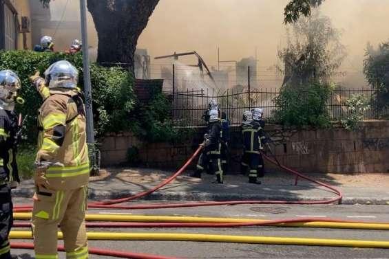 Incendie au Quartier-Latin :