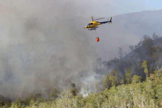 Incendie de Bangou : 380 hectares partis  en fumée