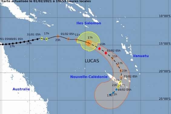 [GROS PLAN] La dépression tropicale Lucas s'approche du pays