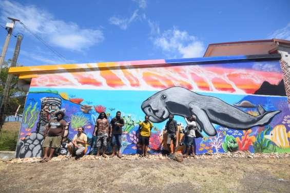 Thio : du graff pourcolorer la ville