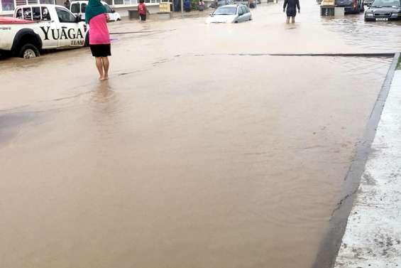 La commune de Païta piégée par les eaux