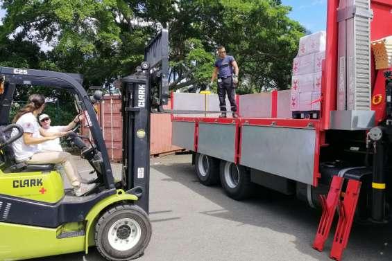 Dépression Lucas: La Croix-Rouge envoie156 kits d'urgence à Ouvéa