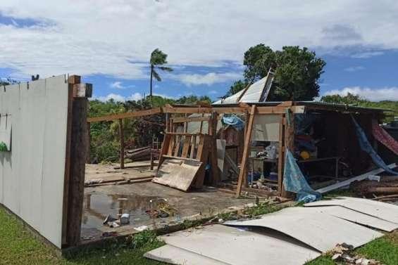 Des centaines d'Îliens sans habitation,un Casa en soutien à Ouvéa et à Tiga