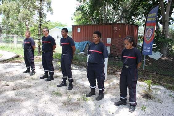 Cinq sapeurs-pompiers volontaires ont pris du galon