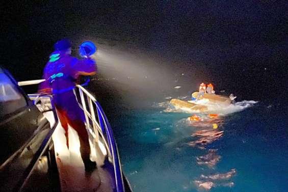 [VIDÉO] Deux naufragés secourus par les Sauveteurs en mer,mercredi soir