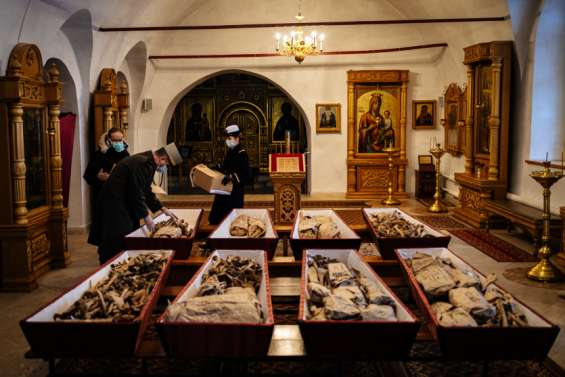 1812: des soldats russes et français enterrés ensemble en Russie