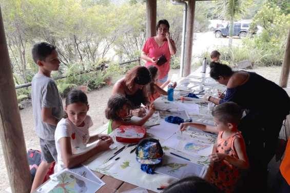 Activités au parc des Grandes Fougères