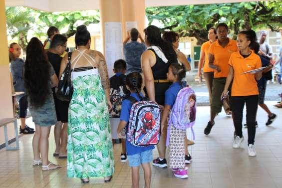 Plus de 10000écoliers ont fait leur rentrée dans le Grand Nouméa