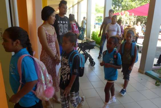 Nouméa : à Logicoop, Daniel-Talon a accueilliles anciens de Louise-Vergès