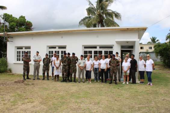 La Croix-Rouge de Koné dispose d'un nouveau local