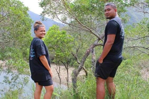 Deux jeunes de Dumbéadeviennentles gardiens de la biodiversité