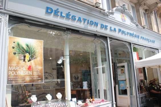 La délégation de la Polynésie à Paris,