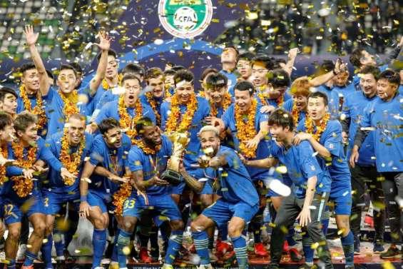 Le Jiangsu FC, un champion  dans le rouge