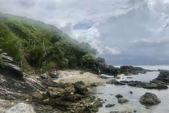 Des sacs et de la motivation pour nettoyer l'îlot N'Géa