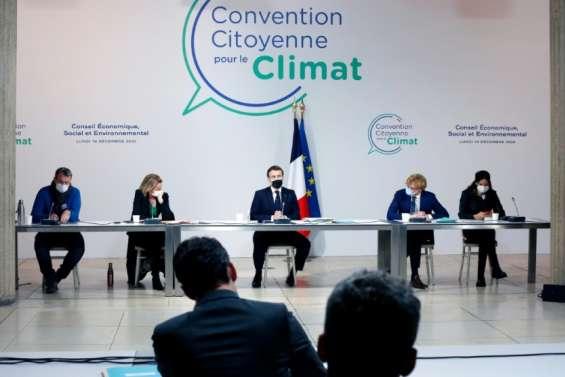La Convention climat juge sévèrement la prise en compte de ses propositions