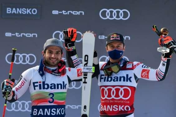 Ski alpin: Faivre toujours plus fort à Bansko, Pinturault placé