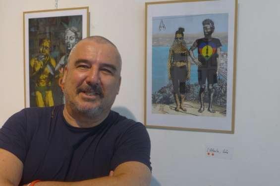 Antoine Pecquet expose son art numérique