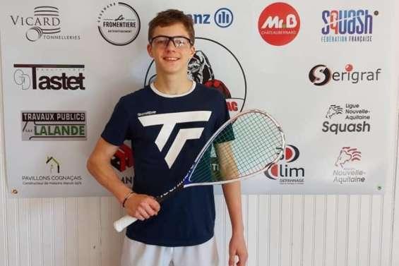 Brice Nicolas gagne un tournoi à Cognac
