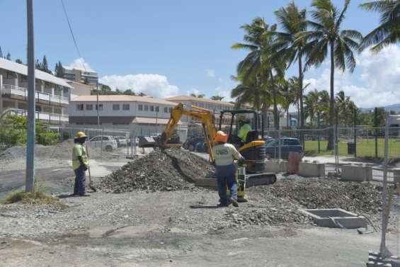 Deux opérations pour mieux gérereaux pluviales et usées à l'Anse-Vata