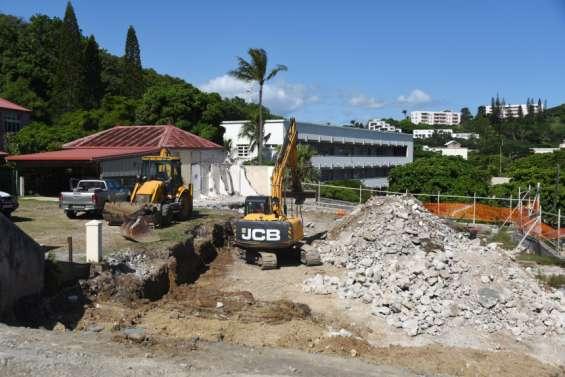 Les travaux du centre Monseigneur-Kohü ont commencé