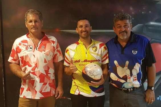David Gervolino prend d'entrée la tête du championnat de bowling