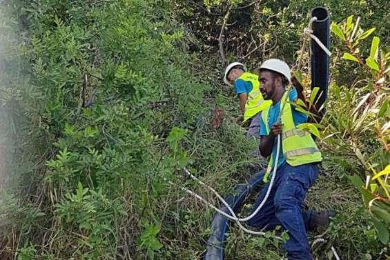 Païta : l'arrivée d'eau a été rétablie au réservoir du col de Katiramona