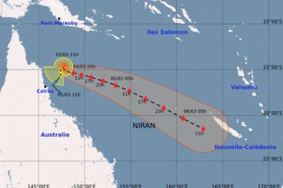 Cyclone Niran: le paysen préalerte dès ce jeudi matin