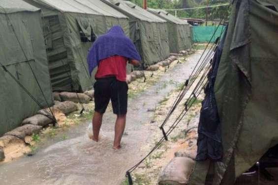 Des migrants libérés après des années de détention