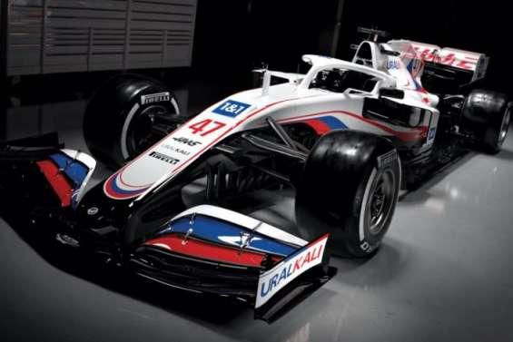 L'écurie américaine Haas prend l'accent russe