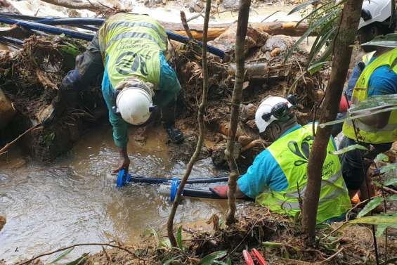 Païta:Risque de manque d'eau à Tamoa
