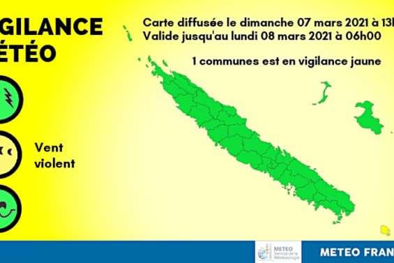 Météo : l'Île des Pins placée en vigilance jaune forte houle