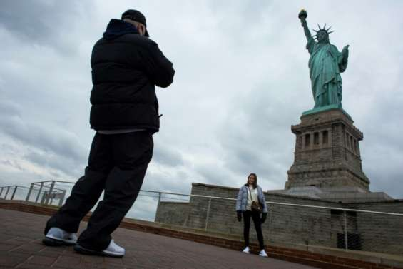 Les New-Yorkais redécouvrent les lieux touristiques de leur ville, désertés avec la pandémie