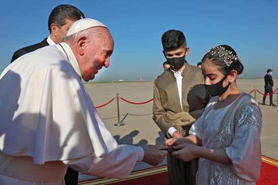 Le pape à la rencontre des chrétiens du nord de l'Irak ravagé par l'EI