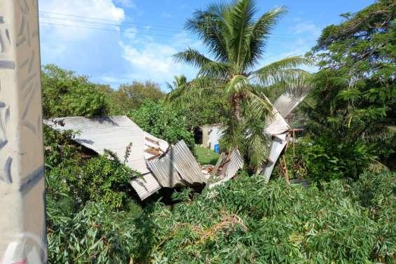 Des dégâts assez limités dans le centre et à Dumbéa-sur-Mer