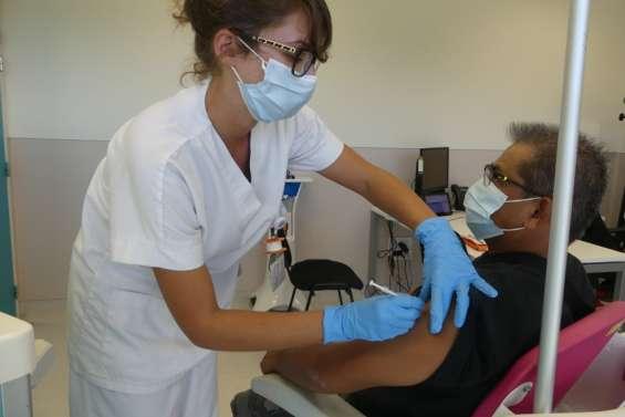 La cadence des vaccinations a doublé à Koné