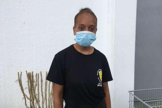 Une agent de sécurité témoigne de son quotidien, à Poindimié